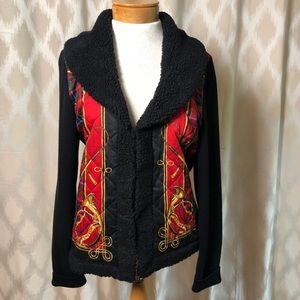 Lauren Ralph Lauren Equestrian Theme Sweater XL